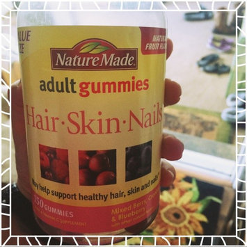 Photo of Nature Made Adult Gummies Hair-Skin-Nails Mixed Berry Cranberry & Blueberry 90 Gummies uploaded by Brittany P.