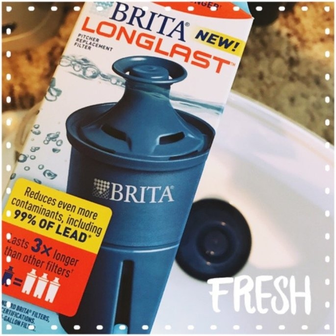 Brita Longlast Filter - 1 count, White uploaded by Maria T.