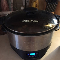 FARBERWARE 6-Quart Programmable Slow Cooker, Stainless Steel uploaded by Joely T.