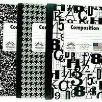 Norcom, Inc Wide Ruled Composition Notebook uploaded by Magalys v.