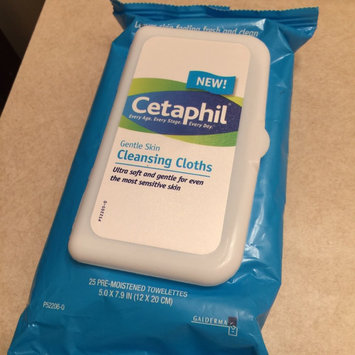 Photo of Cetaphil Gentle Skin Cleansing Cloths - 25 count uploaded by Kathryn O.