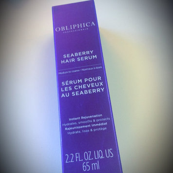 Obliphica Professional Seaberry Hair Serum uploaded by Sarah S.