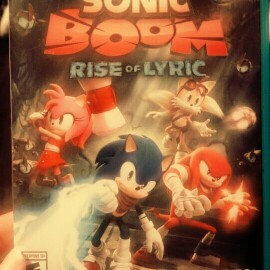 Photo of Sonic Boom: Rise of Lyric (Nintendo Wii U) uploaded by Noelle S.