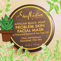 SheaMoisture African Black Soap Problem Skin Facial Mask uploaded by Anika T.