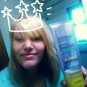 L'Oréal® Paris Hair Expertise™ EverPure Sulfate-Free Blonde Brass Banisher™ Shampoo 11.05 fl. oz. Tube uploaded by Bethany F.