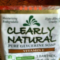 Clearly Naturals Clearly Natural Bar Soap Vitamin E 3 Pack 4 oz uploaded by alisha j.