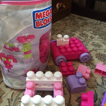Photo of Mega Bloks First Builders Big Building Bag Pink - 80 pieces uploaded by Katie L.