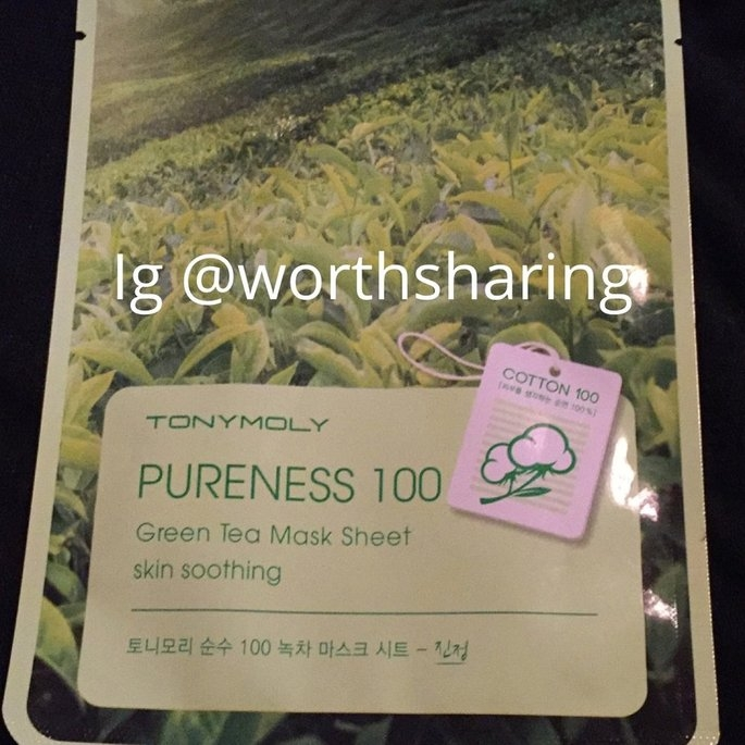 Tony Moly Green Tea Mask Sheet uploaded by Connie F.