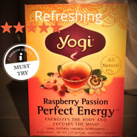 Yogi Tea Herbal Tea Raspberry Passion Perfect Energy uploaded by Paola O.