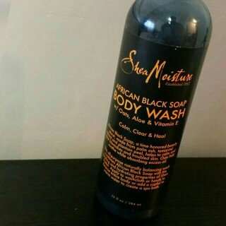SheaMoisture African Black Soap Body Wash uploaded by MzNatural L.