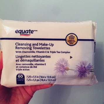 Equate - Facial Cleansing Towelettes, 60 Wet Towelettes(Compare to Ponds Clean Sweep) uploaded by Catherine L.