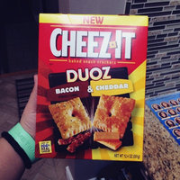 Cheez-It Duoz® Bacon & Cheddar Baked Snack Crackers 12.4 oz. Box uploaded by Mika C.