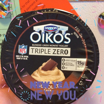 Photo of Dannon® Oikos® Triple Zero Chocolate Greek Yogurt 4-5.3 oz. Cups uploaded by sheena s.