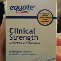 Equate Clinical Strength Antiperspirant Deodorant, Fresh Scent, 1.6oz, Compare to Secret Clinical Strength Active Ingredient uploaded by haley m.