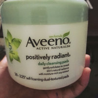 Aveeno Positively Radiant Cleansing Pads uploaded by Nicole W.