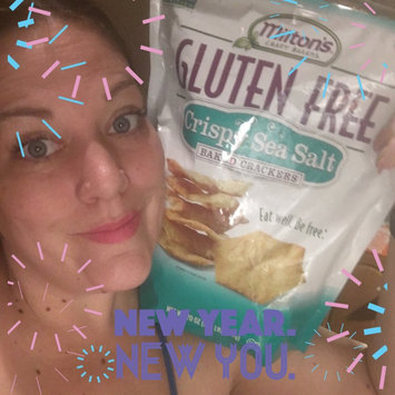 Photo of Milton's Craft Bakers Gluten Free Baked Crackers Crispy Sea Salt uploaded by Jetta C.