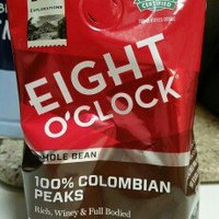 Eight O'Clock 100% Colombian Whole Bean Coffee uploaded by Kenzi M.