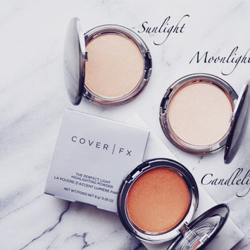 COVER FX The Perfect Light Highlighting Powder Moonlight 0.28 oz/ 8.2806 mL uploaded by Becky M.