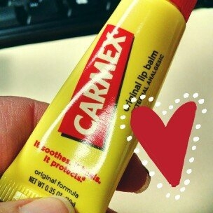 Carmex Cherry Lip Balm uploaded by Meaghan S.