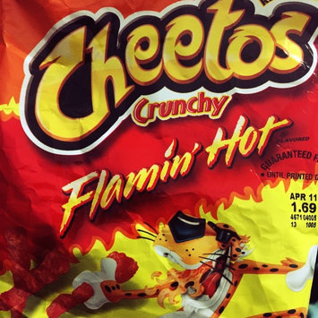 Cheetos Flamin' Hot Crunchy Cheese Flavored Snacks uploaded by Elsa F.