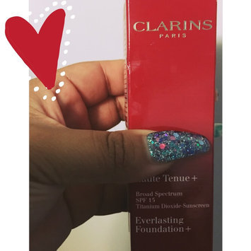 Photo of Clarins SPF 15 Everlasting Foundation uploaded by Wendy A.