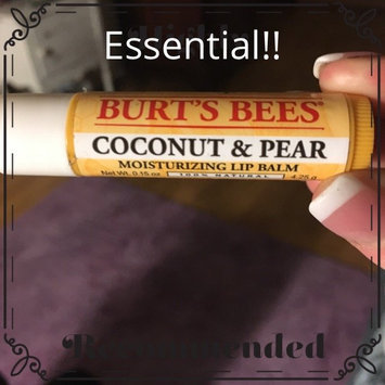 Photo of Burt's Bees Coconut & Pear Lip Balm uploaded by Jessica B.