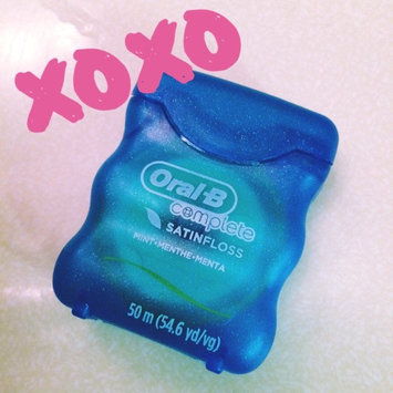 Photo of Oral-B Complete Satin Floss Mint 55 yd Carded Pack uploaded by Jenna W.