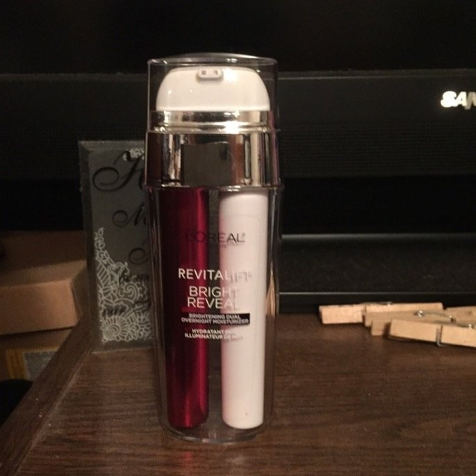 L'Oréal Paris Revitalift Bright Reveal Brightening Dual Overnight Moisturizer uploaded by Courtney H.