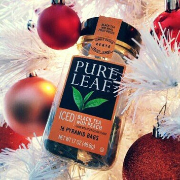 Photo of Pure Leaf Black Tea with Peach in Pyramid Bags 16ct uploaded by Ashley S.