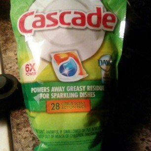 Cascade Dishwasher Detergent with Dawn uploaded by MichelIe C.