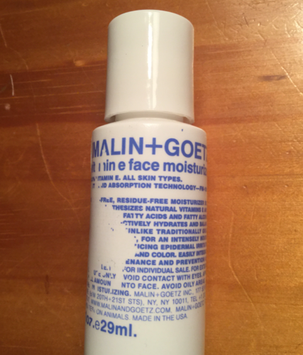 Photo of MALIN+GOETZ Vitamin E Face Moisturizer uploaded by Flora R.