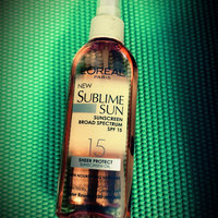 L'Oréal Paris Advanced Suncare Invisible Protect Dry Oil Spray 50+ uploaded by Sonia B.