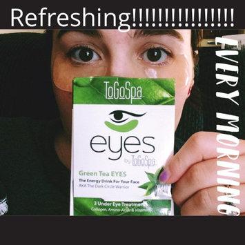Photo of ToGoSpa Green Tea - Rejuvenating Eye Pads 3 piece uploaded by brandie b.
