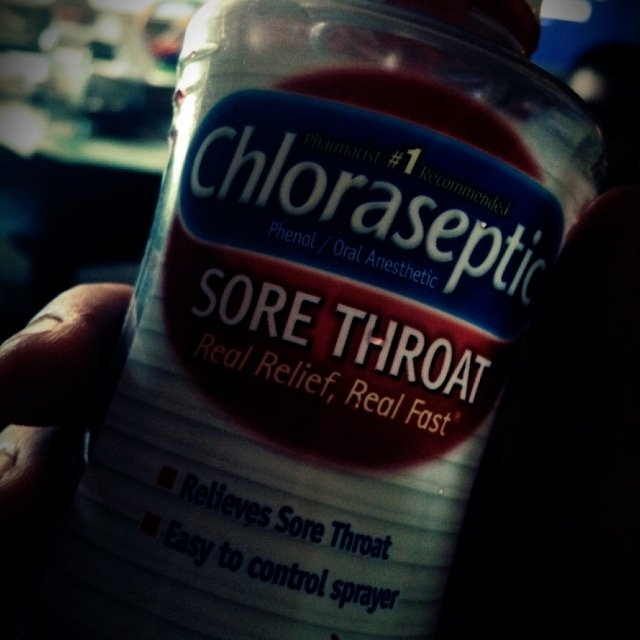 Chloraseptic Sore Throat Spray uploaded by Samantha A.