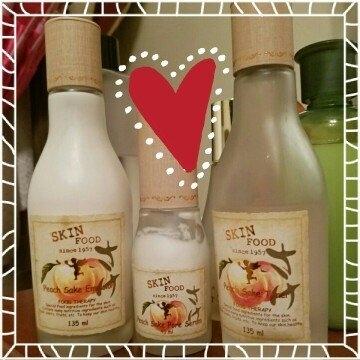 SKINFOOD Peach Sake Emulsion (for pore care) 135ml uploaded by Kelly R.