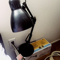 Hampton Bay Lamps Architect 22 in. Matte Black Desk Lamp with CFL Bulb CLAMP1EQBKR uploaded by Elena F.