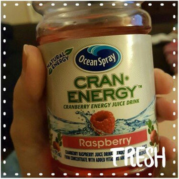 Photo of Ocean Spray® Cran-Energy™ Raspberry Cranberry Energy Juice Drink 6-10 fl. oz. Bottles uploaded by Alicia G.