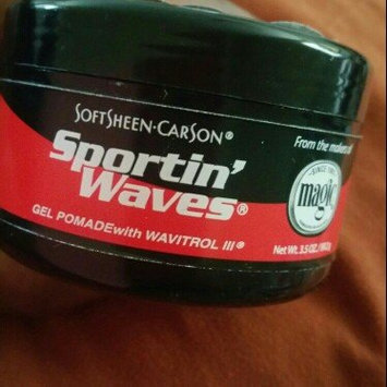 SoftSheen Carson Sportin' Waves with Wavitrol III Gel Pomade uploaded by MONEKA S.