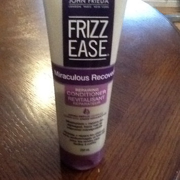 Photo of John Frieda Frizz Ease Miraculous Recovery Repairing Conditioner, 8.45 fl oz uploaded by Sherry M.