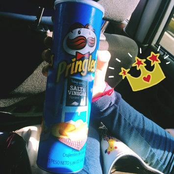 Photo of Pringles® Salt & Vinegar Potato Crisps uploaded by Vanessa S.