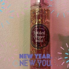 Bath & Body Works Bath and Body Works Twisted Peppermint Fine Fragrance Mist 2014 Design uploaded by Heather S.
