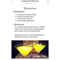 Midori Melon Liqueur uploaded by Arielle D.
