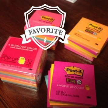 3M Self-Stick Notes and Dispensers ULettera Colors Super Sticky Pop uploaded by Amber U.