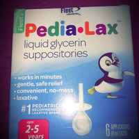 FLEET PEDIA-LAX GLYCERIN SUPPOSITORIES CHILDREN 12'S uploaded by Blythe S.