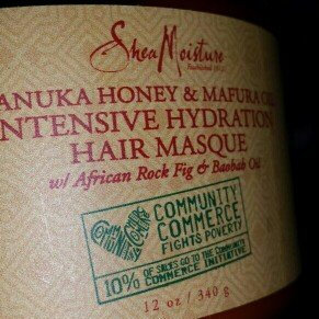SheaMoisture Manuka Honey & Mafura Oil Intensive Hydration Hair Masque uploaded by Ashley N.