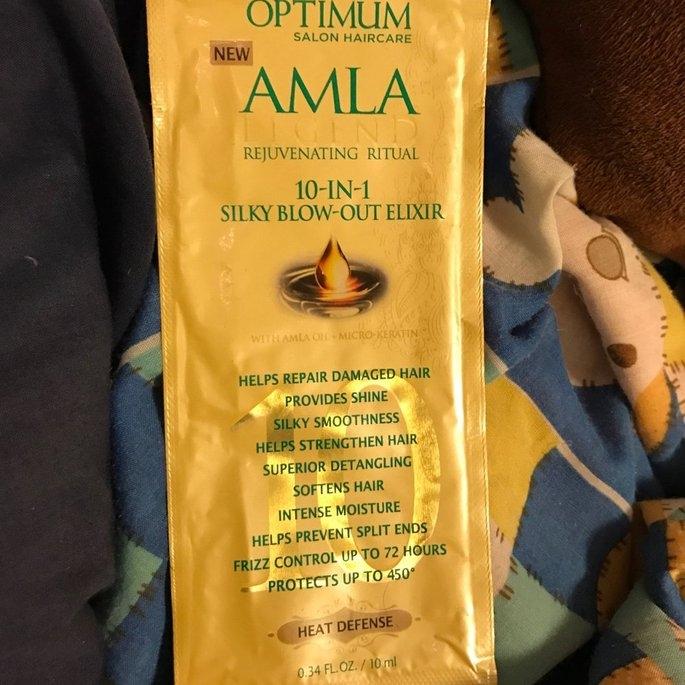 Optimum Salon Haircare Amla Legend Rejuvenating Oil, 5 fl oz uploaded by Rosanna T.