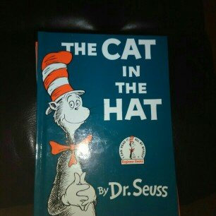 The Cat in the Hat by Dr. Seuss uploaded by liz m.