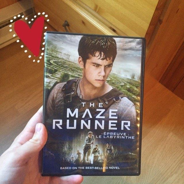 The Maze Runner (Blu-ray + Digital HD) uploaded by Mélissa L.