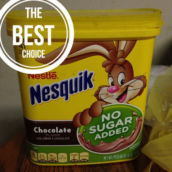 Photo of Nesquik Chocolate Mix No Sugar Added 16oz uploaded by Jessica M.