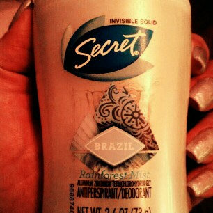 Secret Antiperspirant & Deodorant Invisible Solid, Brazil Rainforest Mist, 2.6 oz uploaded by Coralan S.